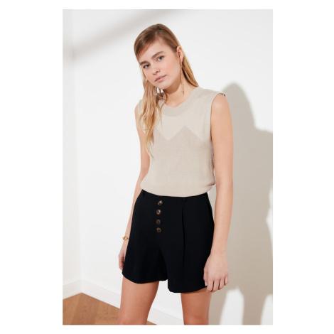 Trendyol Stone Knit Detail Sleeveless Knitwear Blouse