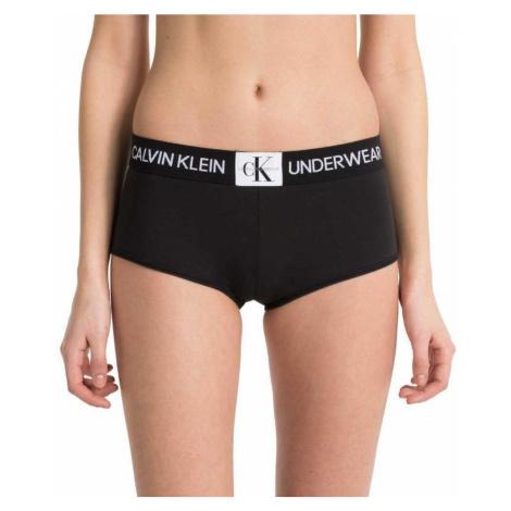 Černé kalhotky s nohavičkou Calvin Klein