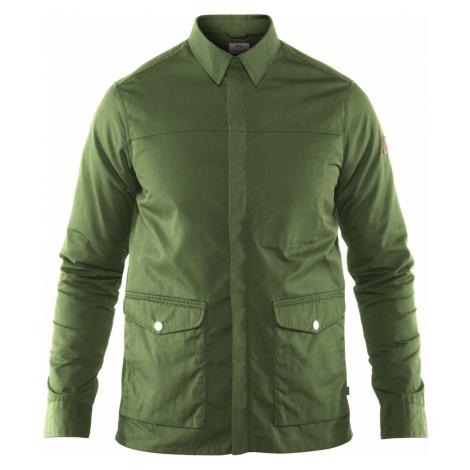 Pánská bunda FJÄLLRÄVEN Greenland Shirt Jacket, Fern Fjällräven