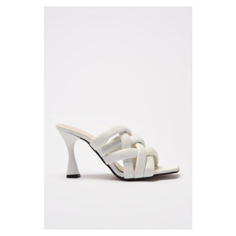 Trendyol White Women's Slippers