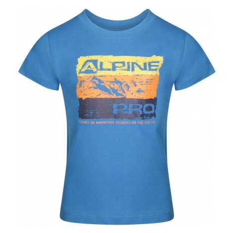 Dětské triko Alpine Pro MATTERO 2 - modrá