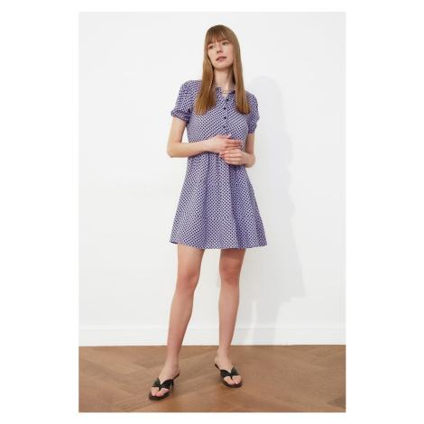 Trendyol Lila Pointy Dress