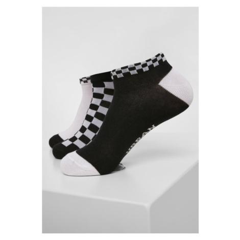 Sneaker Socks Checks 3-Pack Urban Classics