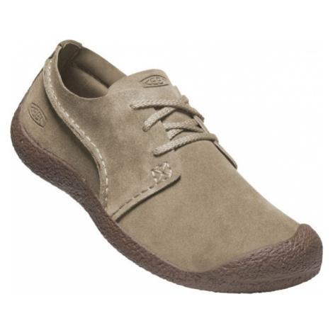 KEEN HOWSER SUEDE OXFORD MEN Pánská letní obuv 10011645KEN01 timberwolf/chestnut