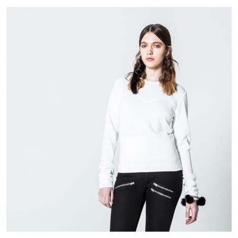 Bílý svetr Wow Cheap Monday