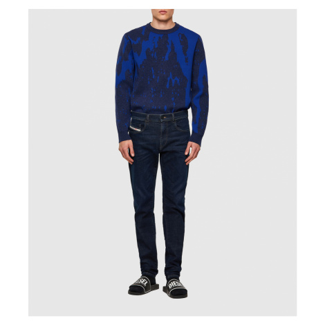 Džíny Diesel D-Strukt-T Sweat Jeans - Modrá