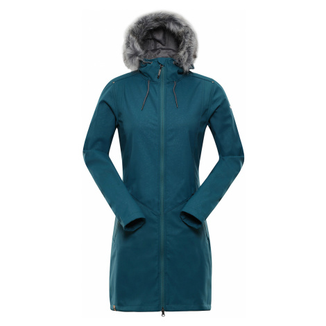 ALPINE PRO PRISCILLA 4 INS. Dámský softshellový kabát LCTP100599 stínový mrak
