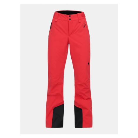 Kalhoty Peak Performance W Anima Pants - Červená