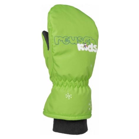 Reusch MITTEN KIDS zelená - Dětské lyžařské rukavice