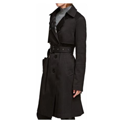 Černý lehký kabát KARL LAGERFELD