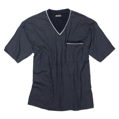 ADAMO pyžamo pánské GUSTAV 360 nadměrná velikost krátký rukáv