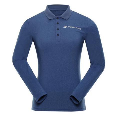 Stera modrá dámské triko ALPINE PRO