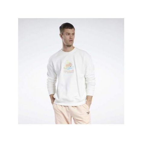 Reebok Classic Classics Crew Sweatshirt Bílá