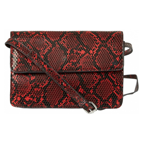 Pieces Dámská crossbody kabelka PCJULIE CROSS BODY Racing Red