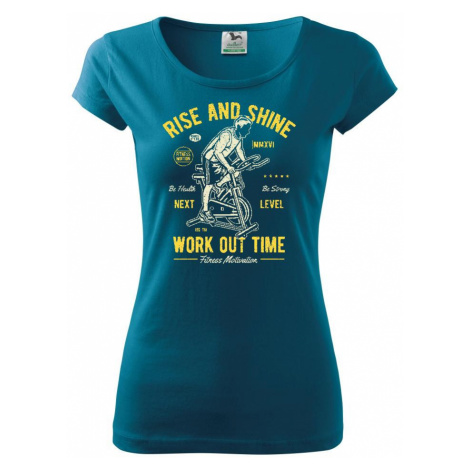 Work Out Time - Pure dámské triko