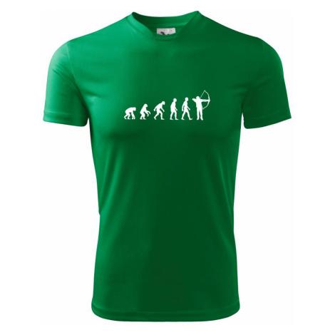 Evoluce lukostřelba - Pánské triko Fantasy sportovní (dresovina)