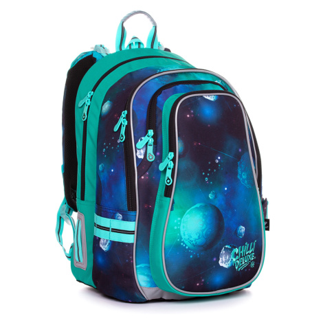 Školní batoh s planetami Topgal LYNN 20019 B
