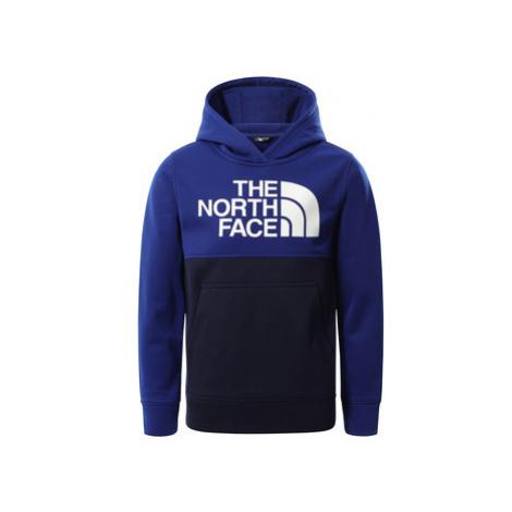 The North Face SURGENT BLOCK HOODIE Modrá