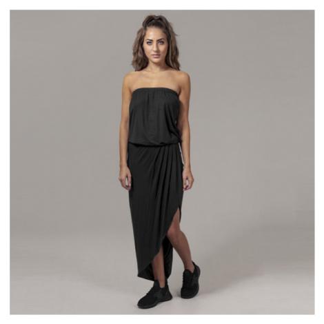 Urban Classics Ladies Viscose Bandeau Dress black