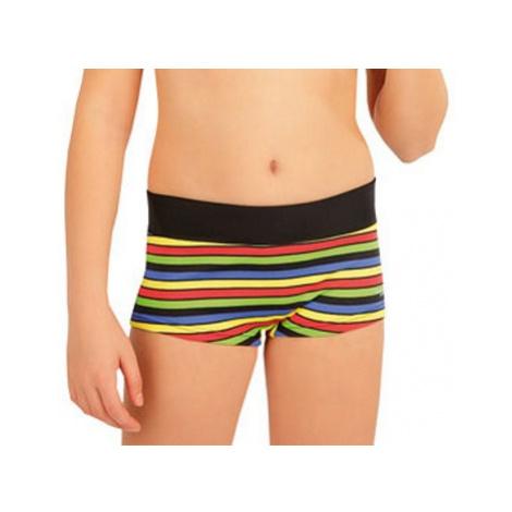 Dívčí plavky kalhotky s nohavičkou Litex 63602   viz. foto
