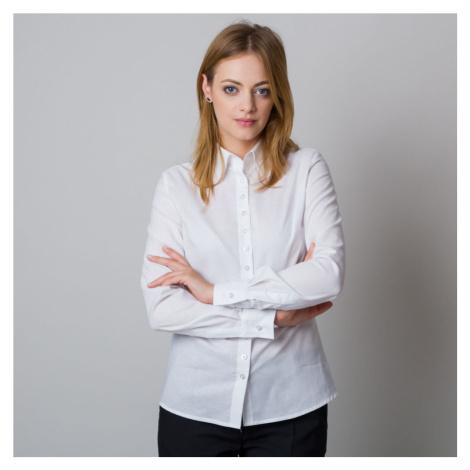Dámská košile bílá se stylovým nápisem na zádech 12081 Willsoor