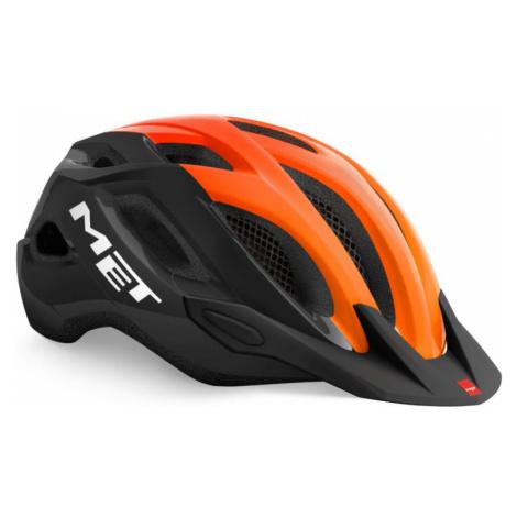 CROSSOVER Cyklistická helma 3HM109CE00ORN Met