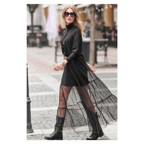 Černé šaty NU257 Numinou