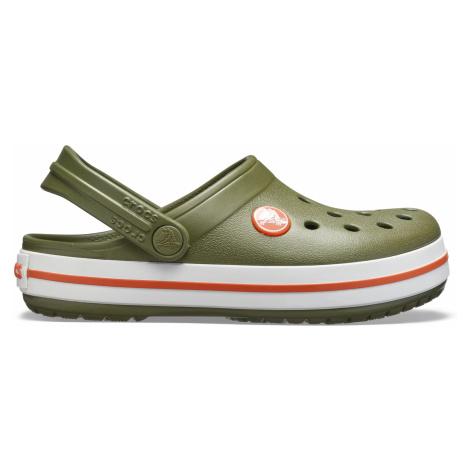 Crocs Crocband Clog K Army Green/Burnt Sienna