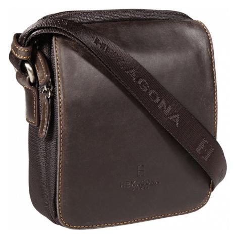 Pánská taška na doklady Hexagona 299176 hnědá