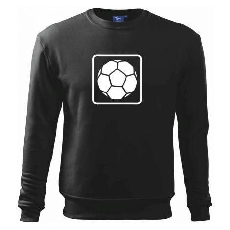 Fotbalový míč emblem - Mikina Essential pánská