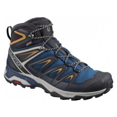 Salomon X ULTRA 3 MID GTX tmavě modrá - Pánská hikingová obuv
