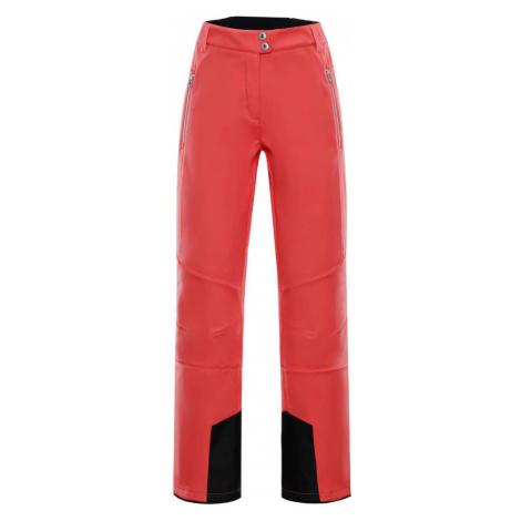 ALPINE PRO KARIA 2 Dámské lyžařské kalhoty LPAM187473 oranžová