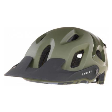 Oakley DRT5 EUROPE tmavě zelená - Cyklistická helma