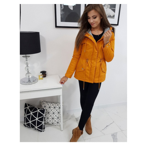 Winter parka jacket EVER, camel TY0859