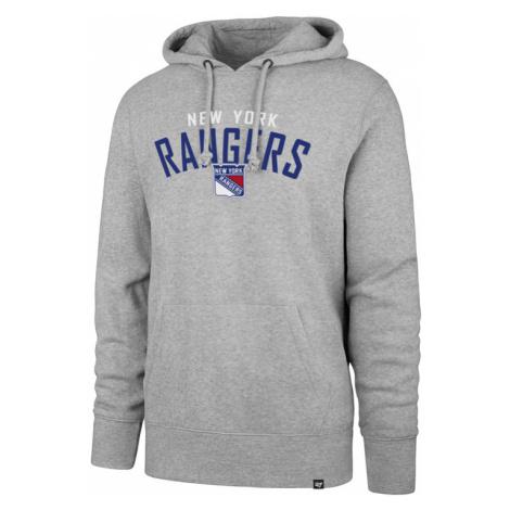 Pánská mikina s kapucí 47 Brand Outrush NHL New York Rangers