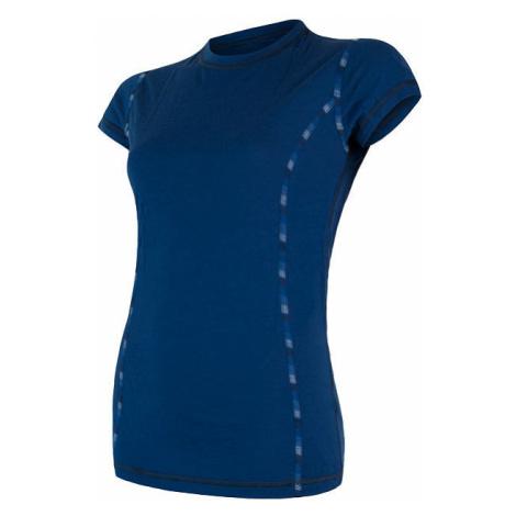 Dámské tričko SENSOR Merino Air tm. modrá