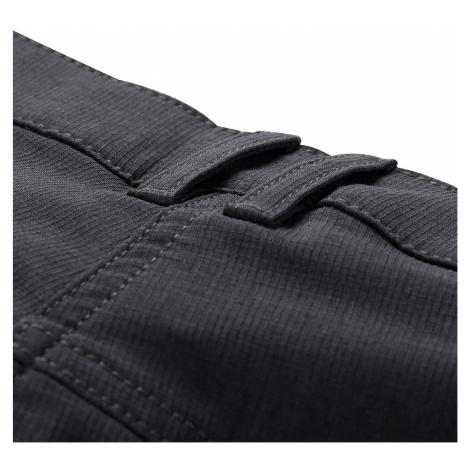 Dámské softshellové kalhoty Alpine Pro MURIA 4 - černo-šedá