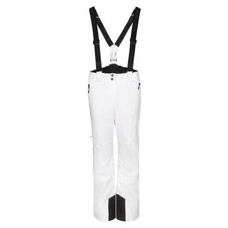 ALPINE PRO ANIKA Dámské lyžařské kalhoty LPAP361000 bílá