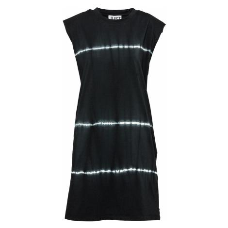 JUST FEMALE Šaty 'Beijing' černá / bílá
