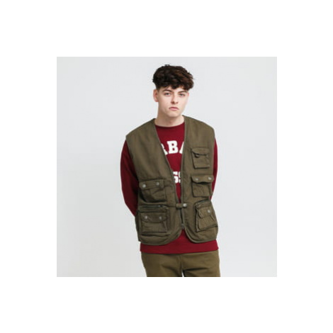 Urban Classics Worker Vest olivová