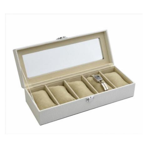JK BOX SP-936/A20, Kazeta na hodinky krémová JKbox