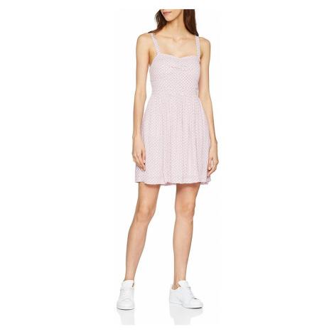 Pepe Jeans Pepe Jeans dámské světle růžové šaty CANDI