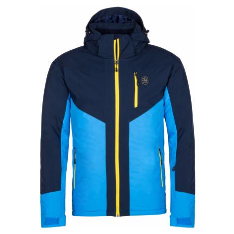 KILPI Pánská lyžařská bunda - větší velikosti TAUREN-M LMX042KIBLU Modrá
