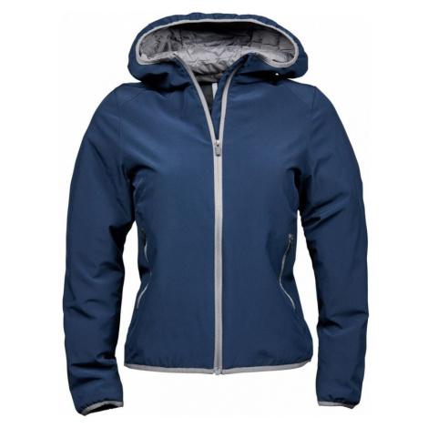 Dámská dvouvrstvá funkční bunda s kapucí Competition tmavě modrá