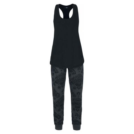 Black Premium by EMP Home Wear Set Dívčí domácí oblečení tmavě šedá