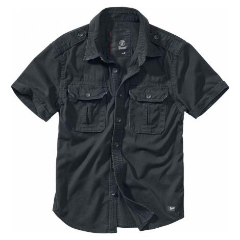 Brandit Vintage Short Sleeve košile černá
