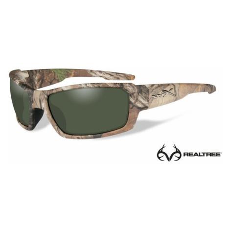 Sluneční brýle Wiley X® Rebel - rámeček Realtree® Xtra, kouřově zelené čočky polarizované