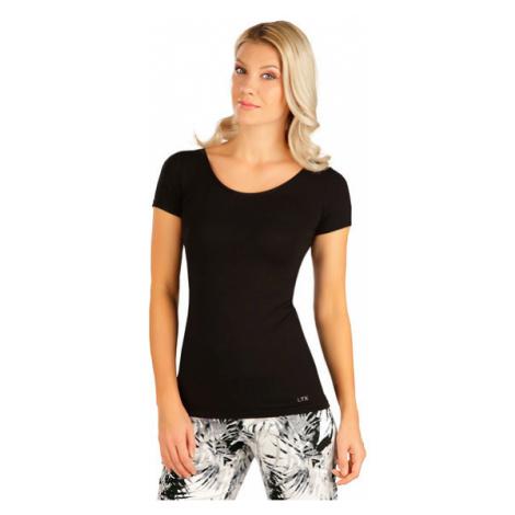 Dámské tričko s krátkým rukávem Litex 5B163   černá
