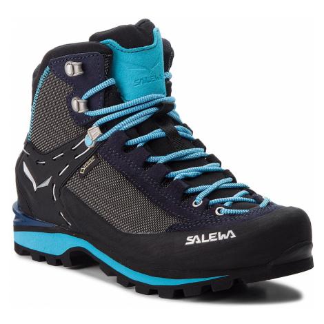 Trekingová obuv SALEWA - Crow Gtx GORE-TEX 61329-3985 Premium Navy/Ethernal Blue