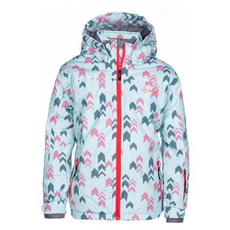 KILPI Dívčí lyžařská bunda JENOVA-JG LJ0052KIPNK Růžová